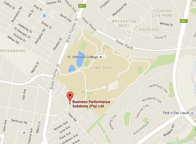 Directions to Business Performance Solutions in Randburg, Gauteng, South Africa